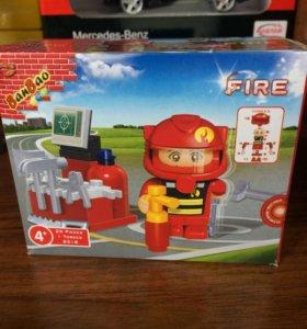 Конструктор пожарный 25 деталей