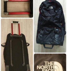 Дорожная сумка багаж The North Face отличное состо
