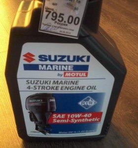Масло suzuki marine