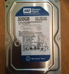 Жёсткий  диск WD3200AAKS  320GB