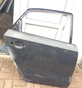 Дверь задняя правая на фольксваген поло