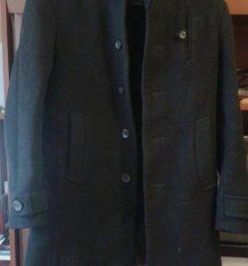 Драповое пальто зима 46 р