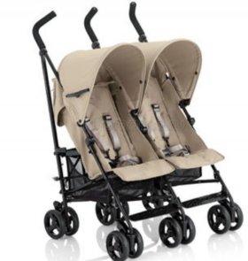 Прогулочная коляска трость для двойни