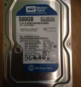 Жёсткий  диск WD5000АAKX 500GB