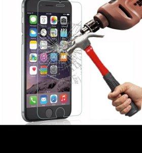 Защитное стекло на iphone 4s/5/5s/5SE/6s plus