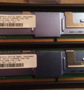 МОДУЛЬ ПАМЯТИ DDR-II  1 GB PC2-5300F-555-11-B0