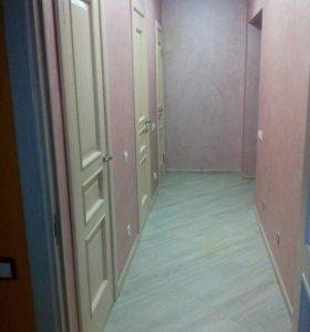 Ремонт комнат коридоров кухонь