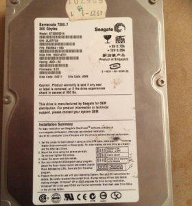 Жёсткий диск IDE Seagate Barracuda 200 GB