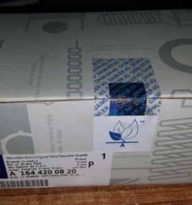 Колодки тормозные передние на мерседес a1644200820