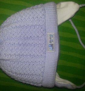 Зимняя шапка +0мес