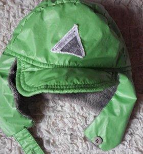 Теплая шапка-ушанка NO-NO Club (53)