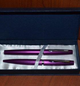 Набор ручек для письма Шариковая и Перьевая