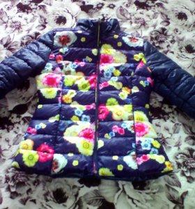 куртка весна-осень размер 46-48