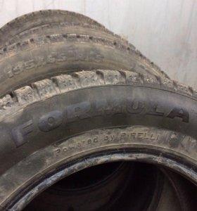 Зимние шины 195/65/15 Pirelli formula