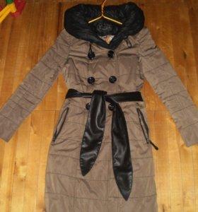 Пальто на синтепоне 42 раз