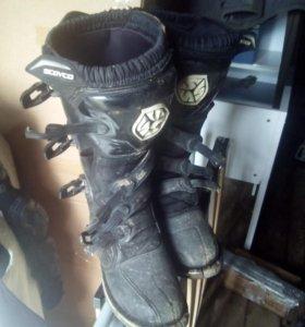 Мотоботы (ботинки мотоциклетные)