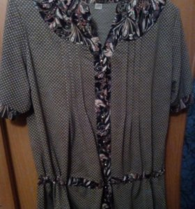 Блузки, туники р 50-52