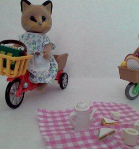 Sylvanian families пикник