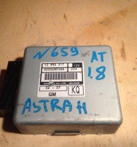 Блок управления АКПП Опель Астра H 12992517