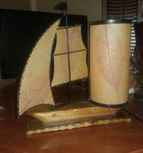 Кораблик ночник