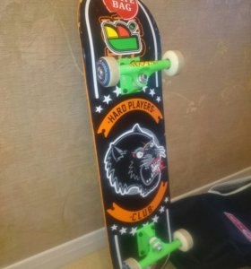 Скейтборд чехол в подарок + щитки