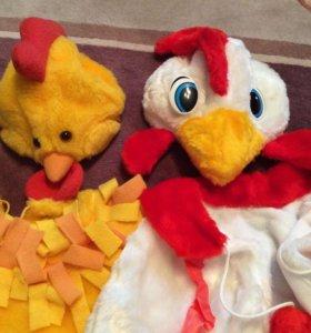 Костюм цыплёнок петух напрокат карнавальный