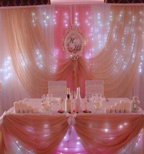 Свадебное оформление. Тамада