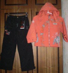 Куртка и брюки демисезон р110/116/122/128/134, нов