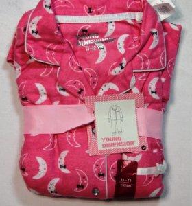 Пижама байковая Young Dimenson 11-12лет