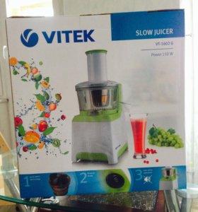Шнековая соковыжималка Vitek vt 1602G