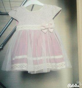 Платье Misse на 6-12 м.