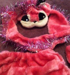 Костюм кошка или лиса напрокат карнавальный