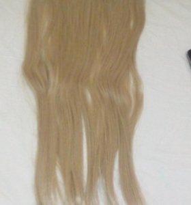 Иск. волосы на заколках