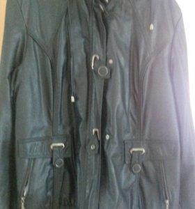 Куртка жен. Р. 52-54.куртка удлиненная р. 46-48