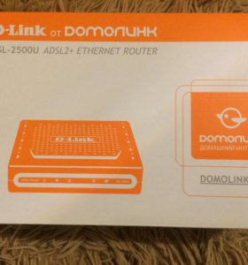 DSL-2500U ADSL2+ETHERNET ROUTER