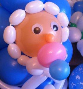 Оформление для деток шариками