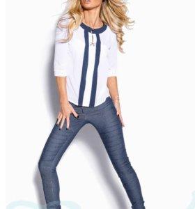Новые джинсы-леггинсы