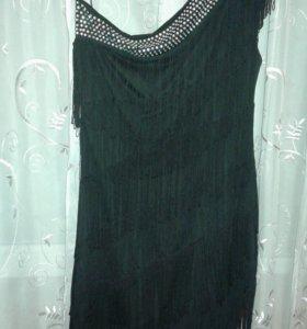 Платье с бохрамой