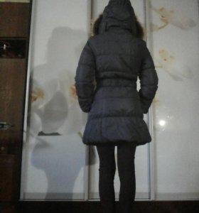 Пальто пуховое Зимнее Женское