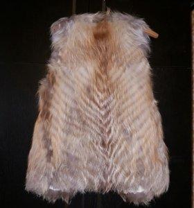 Меховой жилет (лиса)