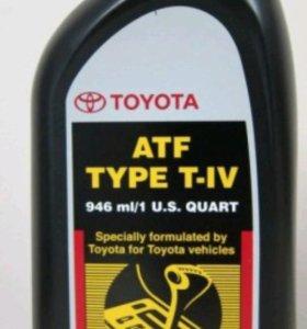 """Масло трансмиссионное """" Toyota ATF type T-IV (T4)"""