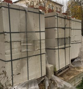 Газосиликатные блоки 1260 шт
