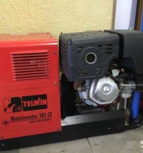 Бензо электро генератор сварочный