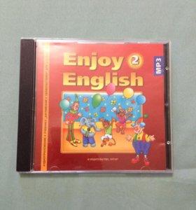 Аудиоприложение к учебнику Enjoy English 2 класс