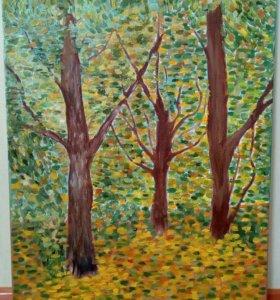 Картина Маслом (Копия Ван Гог)