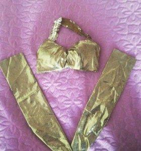 Набор из лифа и рукавов для восточного танца