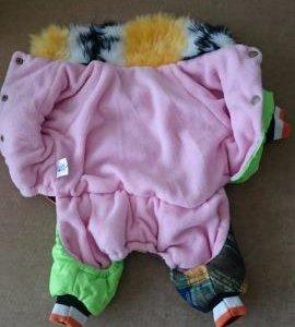 Тёплый костюмчик для собачки