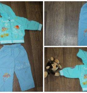 Комбинезоны и костюмы на мальчика от 0-1 года