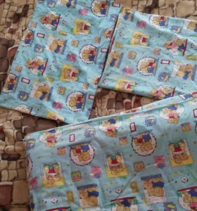 Постельное белье+теплое одеяло