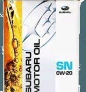 Масло моторное Subaru SN 0w20, 4 литра